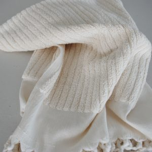 Hand towel made from certified organic cotton
