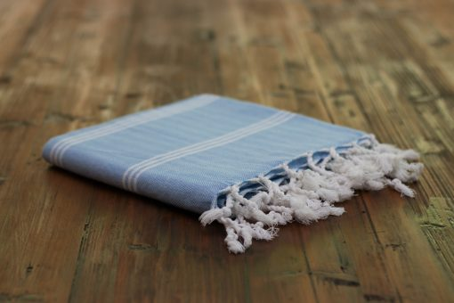 Blue Taksim original hamam towel