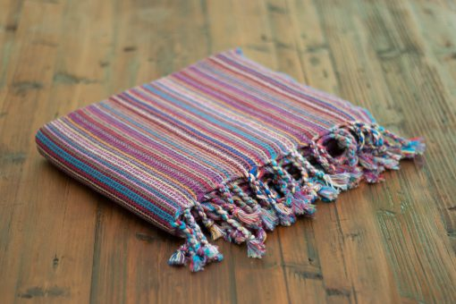 Bebek pestemal in boho stripes