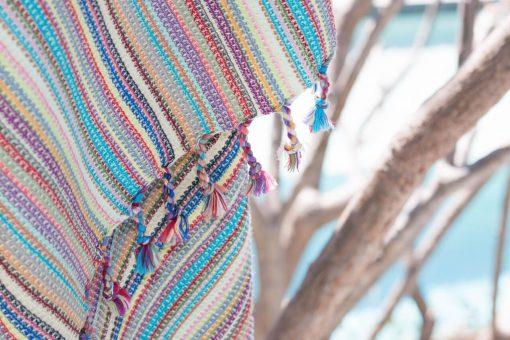 Bebek peshtemal in boho stripes