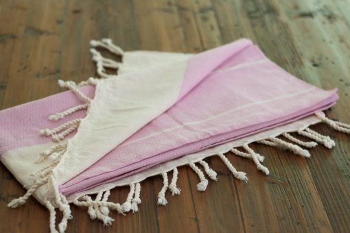 Alpine Beach Towel Pink