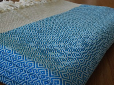 Baklava handwoven turkish throw