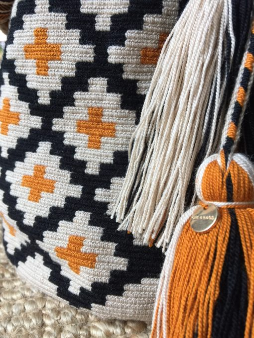 Hand crocheted supporting women of the Wayuu tribe