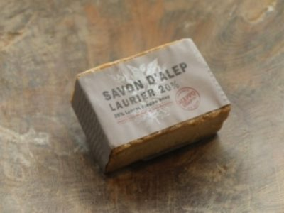 aleppo soap traditionally made contain 20% laurel oil