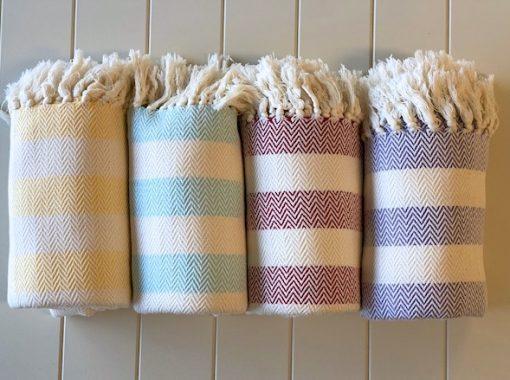 Sovereign Pestemal Towel made by artisan weavers