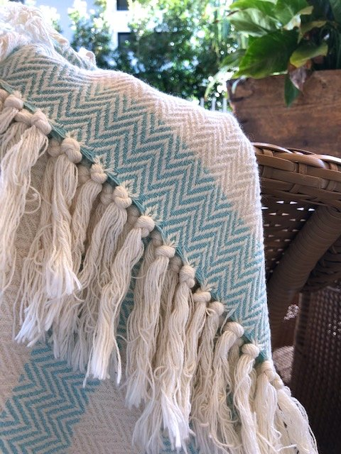 Shelly Beach pesteamal made with organic cotton