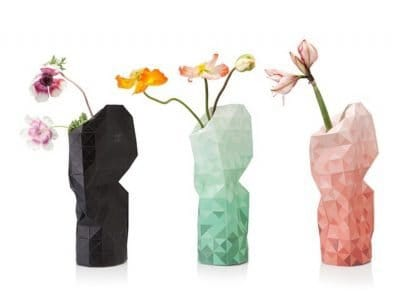 Tiny miracles paper vase covers designed by Pepe Heykoop