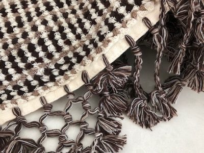 Crossroads bathmat made from certified organic cotton