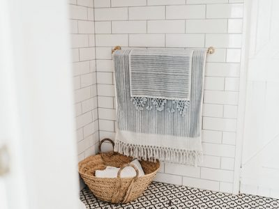 bath towel made from luxurious organic cotton