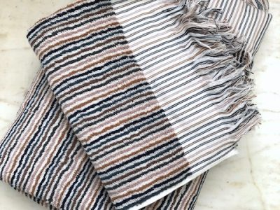 Alice multi stripe towels by Citta